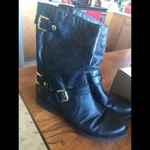 Steve Madden biker boots size 9.5